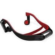 Panasonic® RP-BTGS10 Bluetooth Bone Conduction Water-Resistant Open-Ear Headphone, Black/Red