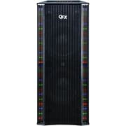 QFX SBX-410202BT 4000W Bluetooth Tower Home Theater Speaker System With Built-In Amplifier, Black