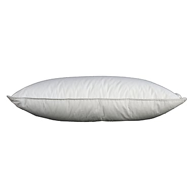 Royal Elite White Goose Feather Pillow, 233 Thread Count, Queen