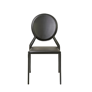 Euro Style™ Isabella Leather Side Chairs