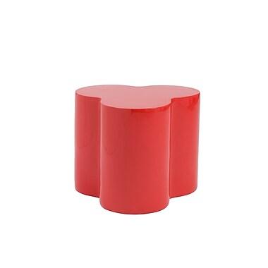Euro Style™ Sloan Fiberglass Stool, High Gloss Red