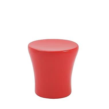 Euro Style™ Takis Fiberglass Stool, High Gloss Red