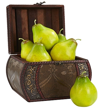 Nearly Natural 2138 Faux Pear Set of 6