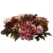 Nearly Natural 4931 Peony Hydrangea Candelabrums, Pink