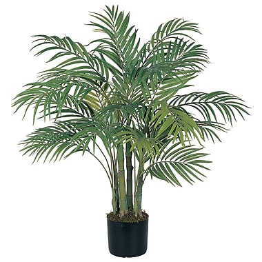 Nearly Natural 5000 3' Areca Silk Palm Tree in Pot