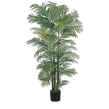 Nearly Natural 5002 6' Areca Silk Palm Tree in Pot