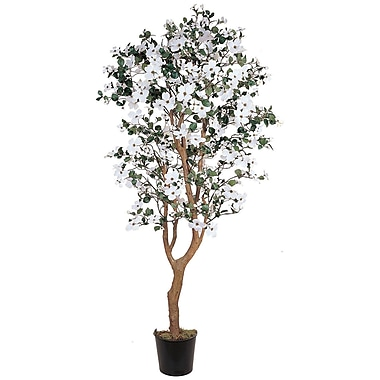 Nearly Natural 5019 5' Dogwood Silk Tree in Pot