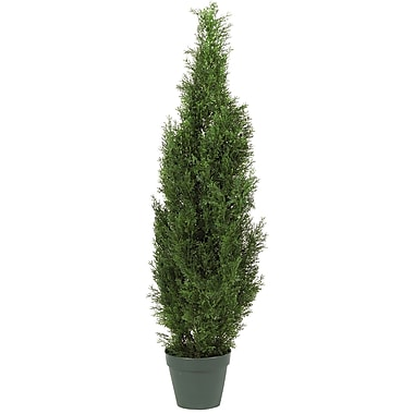 Nearly Natural 5172 4' Cedar Tree in Pot