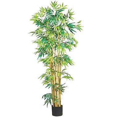 Nearly Natural 5179 5' Bambusa Bamboo Silk Tree in Pot