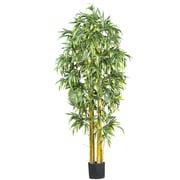 Nearly Natural 5190 6' Big Bamboo Silk Tree in Pot