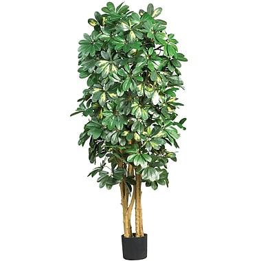 Nearly Natural 5202 5' Schefflera Silk Tree in Pot