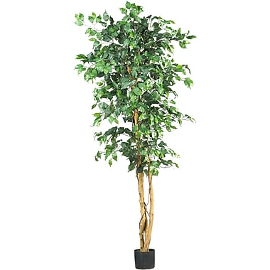 Nearly Natural 5209 6' Ficus Silk Tree in Pot