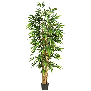 Nearly Natural 5257 6' Belly Bamboo Silk Tree in Pot