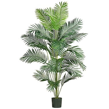 Nearly Natural 5261 7' Paradise Palm Plant in Pot