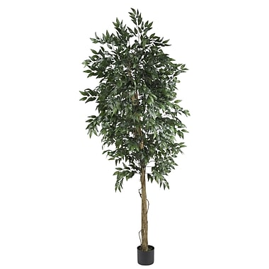 Nearly Natural 5267 6' Smilax Tree in Pot