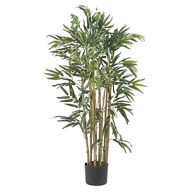 Nearly Natural 5279 3' Multi Bambusa Bamboo Tree in Pot