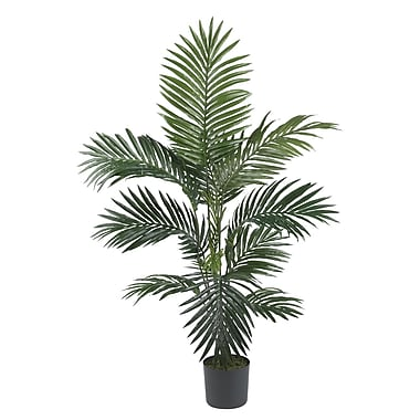 Nearly Natural 5295 4' Kentia Palm Silk Tree in Pot