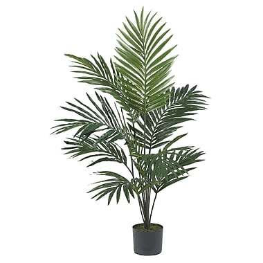 Nearly Natural 5296 5' Kentia Palm Silk Tree in Pot