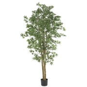Nearly Natural 5297 6' Japanese Maple Silk Tree in Pot