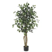 Nearly Natural 5299 4' Ficus Tree in Pot
