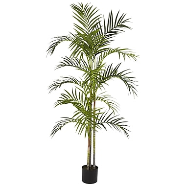 Nearly Natural 5315 5' Areca Palm Silk Tree in Pot