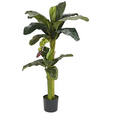 Nearly Natural 5323 Banana Silk Tree in Pot