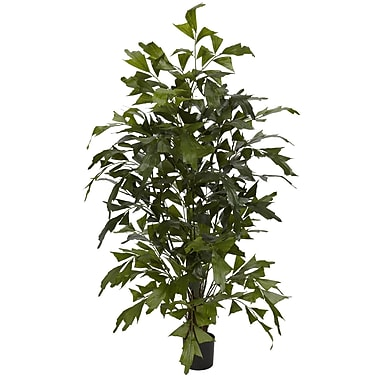 Nearly Natural 5330 Fishtail Palm Silk Tree in Pot
