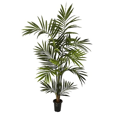 Nearly Natural 5334 6' Kentia Palm Silk Tree in Pot