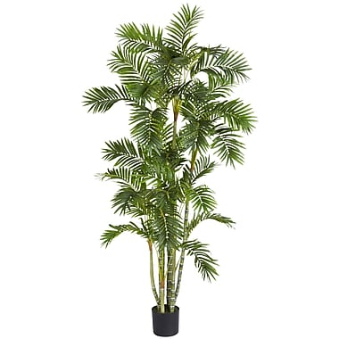 Nearly Natural 5337 Areca Palm Silk Tree in Pot
