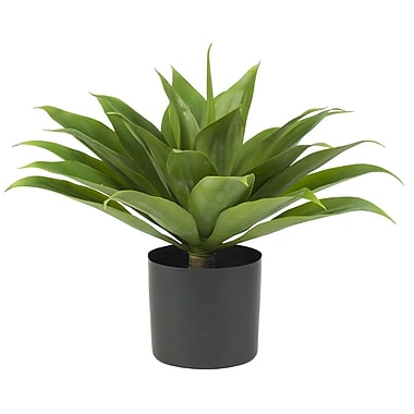 Nearly Natural 6565 Agave Silk Plant in Pot
