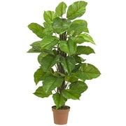 Nearly Natural 6583 52 Philodendron Plant in Pot