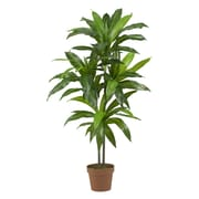 "Nearly Natural 6585 48"" Dracaena Plant in Pot"