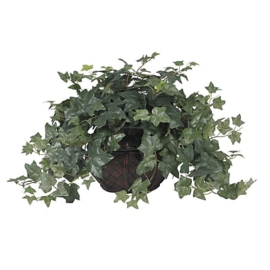 Nearly Natural 6635 Puff Ivy Silk Plant in Pot
