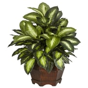 Nearly Natural 6639 Golden Dieffenbachia Plant in Pot