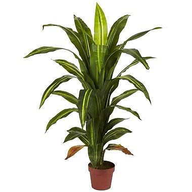 Nearly Natural 6650 4' Dracaena Plant in Pot