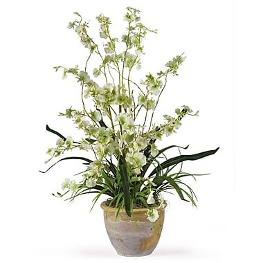 Nearly Natural 1005-GR Dancing Lady Floral Arrangements, Green