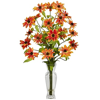 Nearly Natural 1172-OR Cosmos Arrangements, Orange