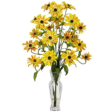 Nearly Natural 1172-YL Cosmos Arrangements, Yellow