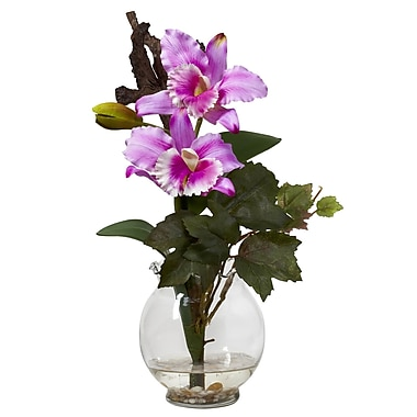 Nearly Natural 1275 Mini Cattleya Floral Arrangements