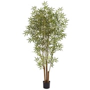 Nearly Natural 5361 6' Japanese Bamboo Tree in Pot