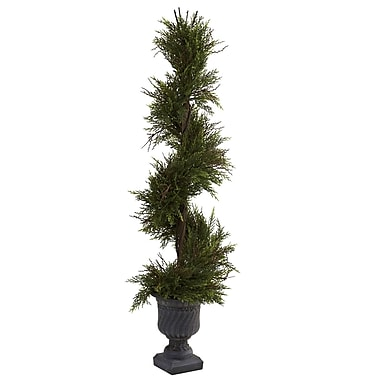 Nearly Natural 5367 Mini Pine Spiral Plant in Pot
