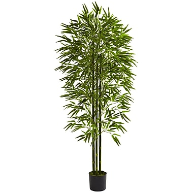 Nearly Natural 5386 6' Bamboo Tree in Pot