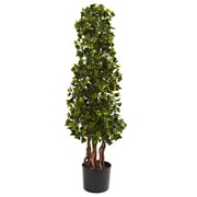 Nearly Natural 5396 English Ivy Spiral UV Resistant Plant in Pot