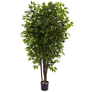 Nearly Natural 5402 Deluxe Ficus Tree in Pot