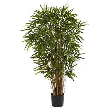 Nearly Natural 5422 4' Twiggy Bamboo Tree in Pot