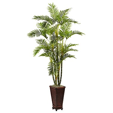 Nearly Natural 5923 Areca Plant in Planter