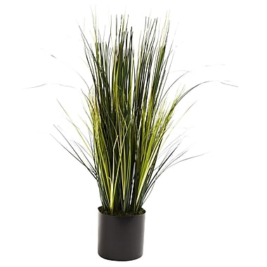 Nearly Natural 6766 3' Onion Grass Plant in Pot