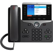 Cisco™ 8841 5 Lines Wall Mountable IP Phone, Black