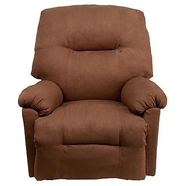 Flash Furniture Contemporary Calcutta Microfiber Power Chaise Recliner, Chocolate