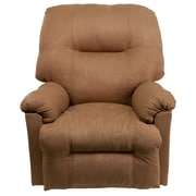 Flash Furniture Contemporary Calcutta Microfiber Power Chaise Recliner, Camel
